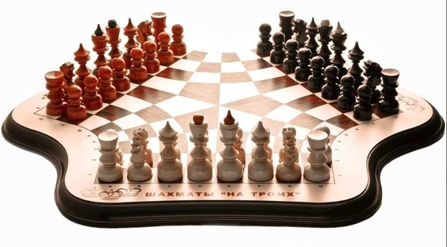 Үш адамға арналған шахмат